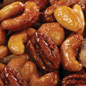 5 Pound Bulk Box- Honey Glazed Mixed Nuts