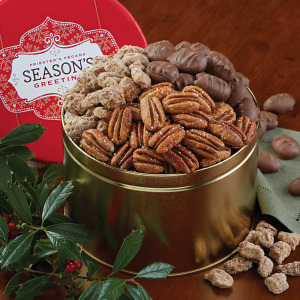 Season's Greetings Snack Tin