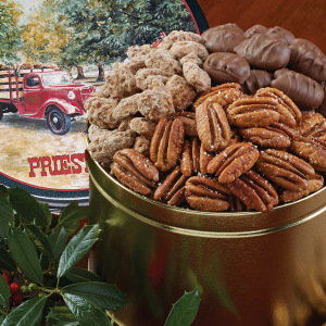 Pecan Grove Snack Tin