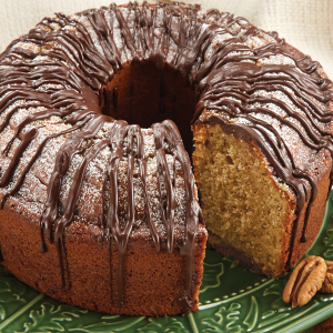 Southern Pecan Pound Cake
