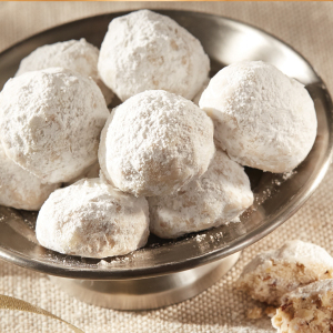 Southern Pecan Sand Tart Cookies