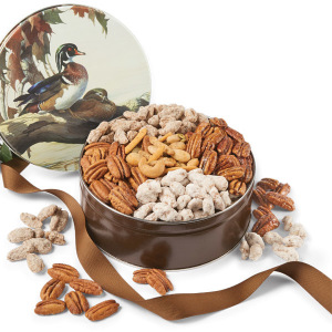 Mallard Gift Tin - Pecan Assortment