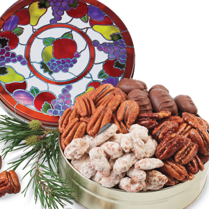 Sweet and Salty Combo - Honey Glazed Pecans (Gift Tin)