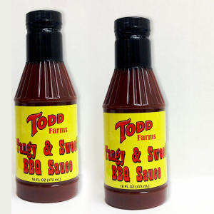 Todd Farms Tangy & Sweet BBQ Sauce - 2 Pack