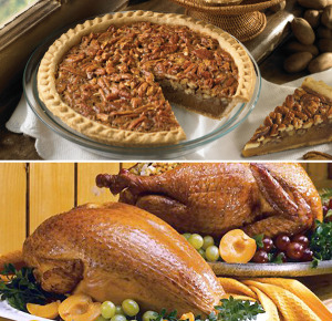 Smoked Turkeys & Turkey and Pecan Pie Combo - Whole Smoked Turkey & Pecan Pie Combo